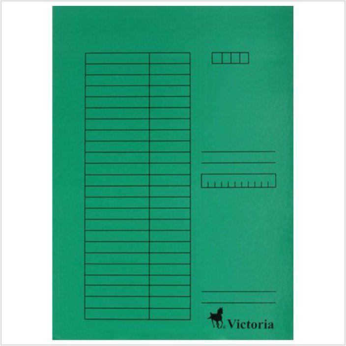 Pólyás dosszié csomag, karton, A4, VICTORIA, 5 választható szín, 5db/csomag