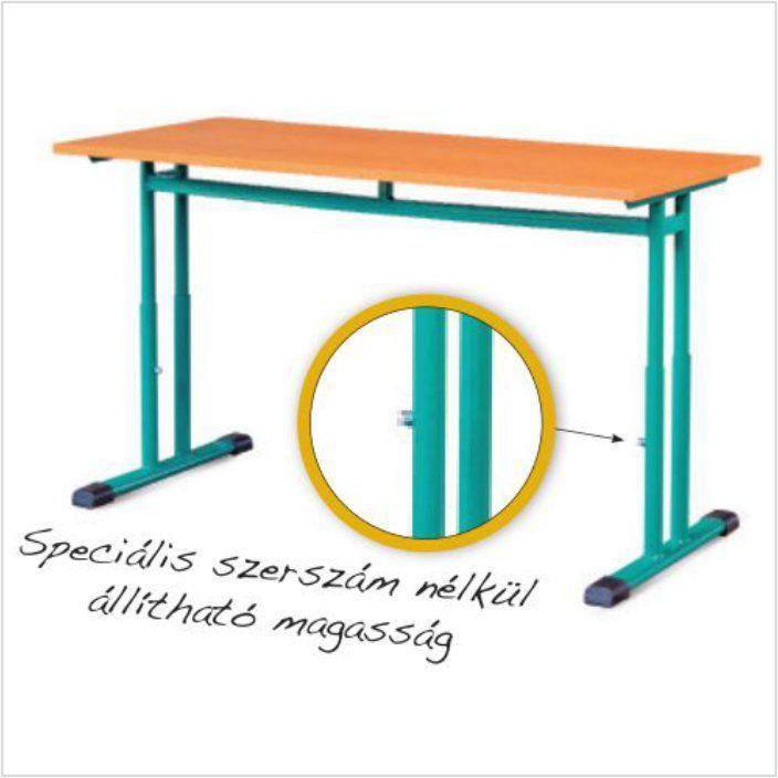 Állítható magasságú Tanulóasztal