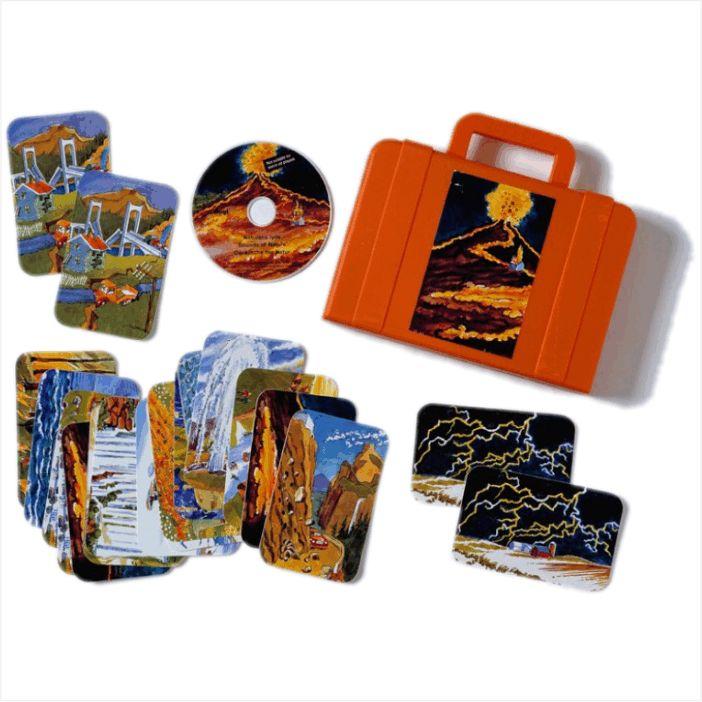 Természet hangjai CD+kártya