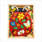 Katica puzzle-fűzőcske