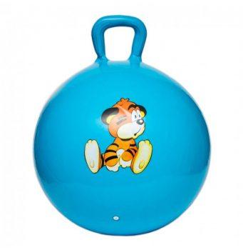 Ugráló labda figurával kék