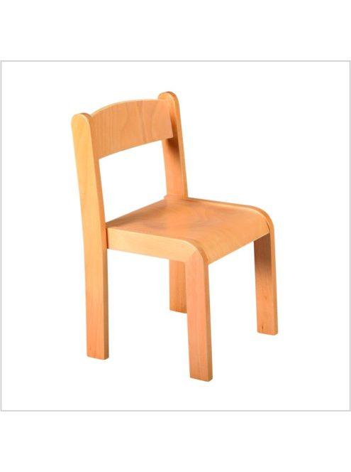 szék rakásolható aidt natúr