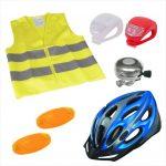 Kerékpáros biztonsági csomag