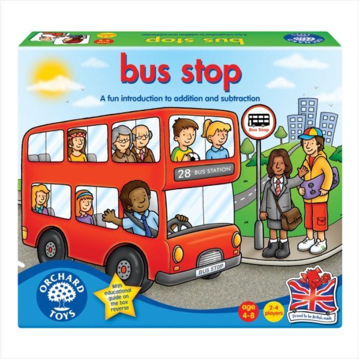 Buszmegálló társasjáték