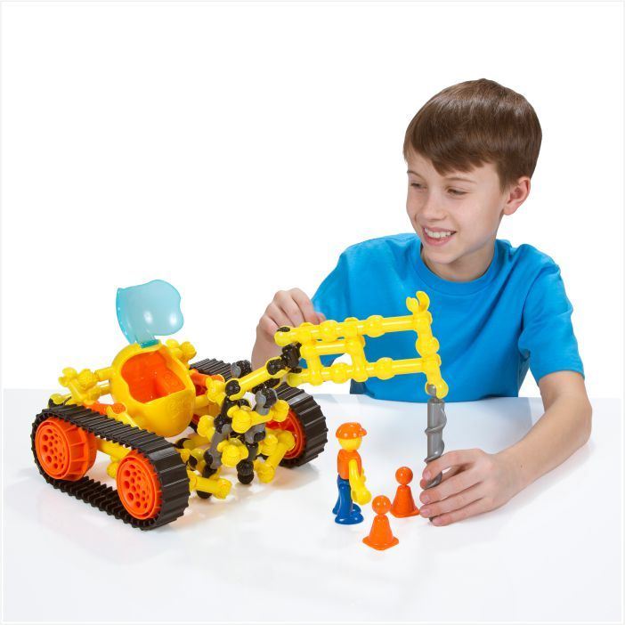 ZOOB Z-STRUX Lánctalpas munkagépek építőjáték