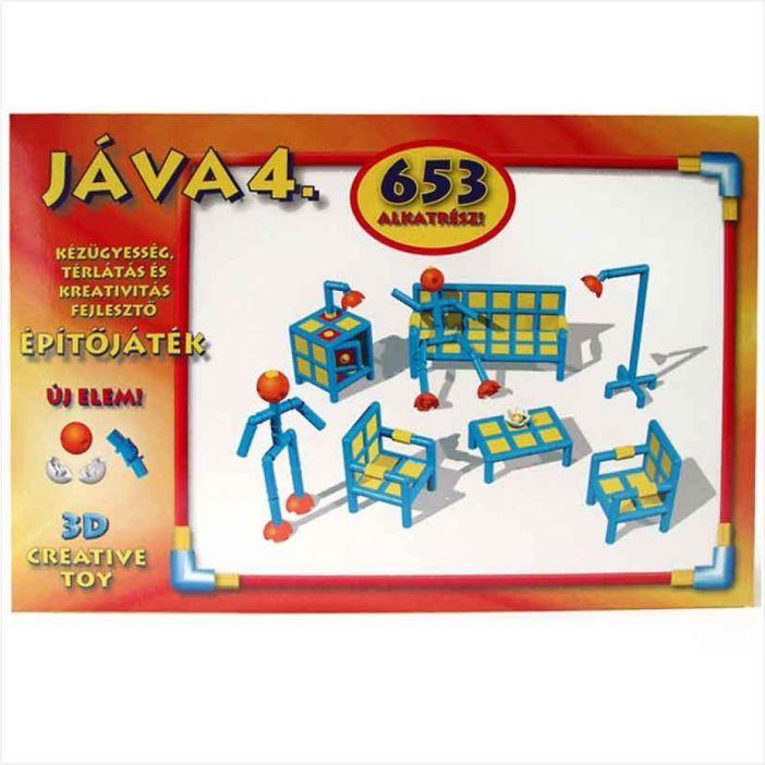 Java 4 építőjáték